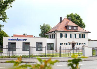 Renovierung einer Villa mit Anbau in Weißenburg