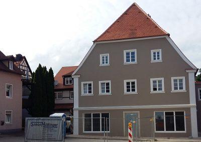 Renovierung einer Gewerbeimmobilie in Treuchtlingen