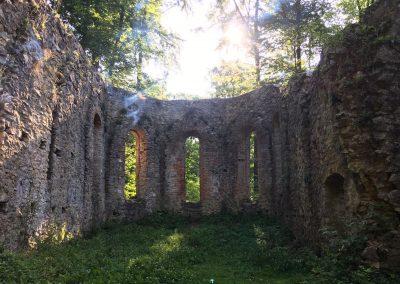 Uhlbergkapelle, Renovierungsarbeiten